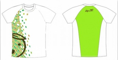 AffiniTea's Brown Race Finisher's Shirt