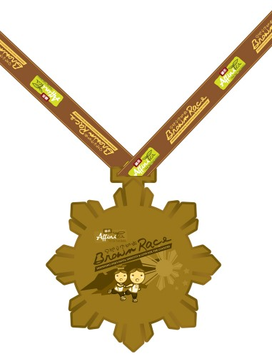 AffiniTea Presents Brown Race medal
